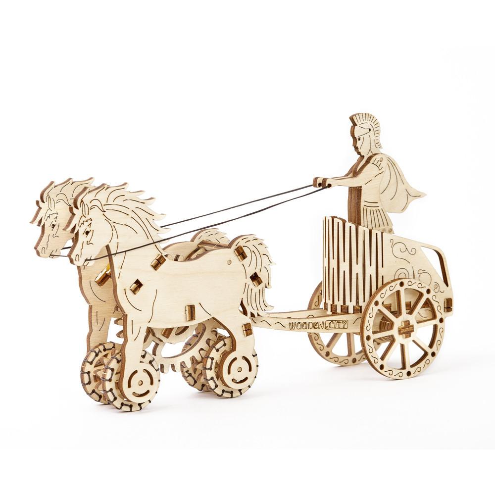 Механический 3D пазл Римская колесница