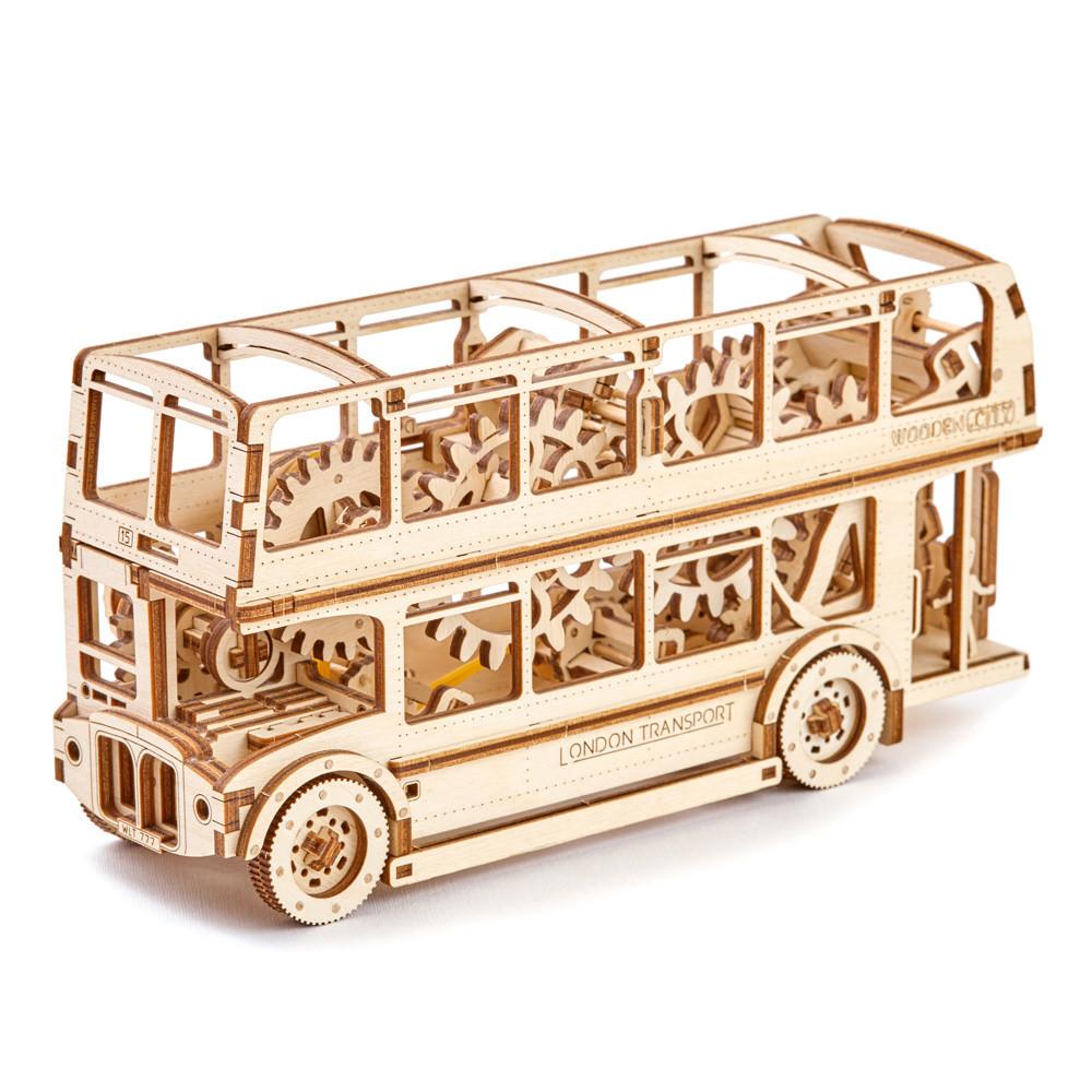 Механический 3D пазл Лондонский автобус