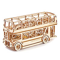 Механический 3D пазл Лондонский автобус, фото 1