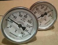 Термометр биметаллический трубчатый PAKKENS Ø100мм, Турция