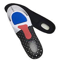 Стельки для обуви ортопедические, мультиразмер (35-45) с антишоковой защитой пятки