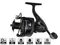 Универсальная катушка,с запасной графитовой шпулей,передний тормоз,5+1BB Black Ghost 3000FD fishing reel