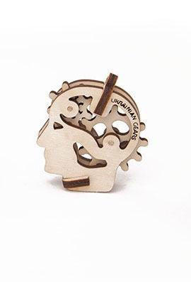 Механический 3D пазл трибик Голова