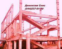 Демонтаж стен Снос зданий Вывоз строй-мусора