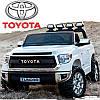 Детский электромобиль TOYOTA Tundra JJ2255 EL-1: 24V7A, 12 км/ч, EVA-колеса, кожа - БЕЛЫЙ - купить оптом