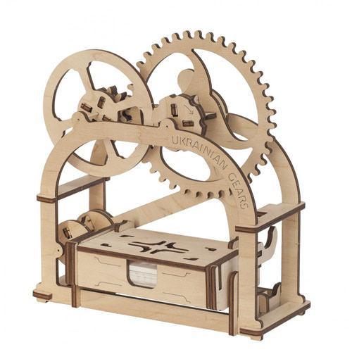 Механический 3D пазл Шкатулка