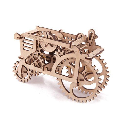Механический 3D пазл Трактор