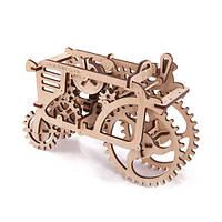 Механический 3D пазл Трактор, фото 1
