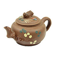 "Чайник глиняный 450 мл ""Рыбка"" ( заварочный чайник )"