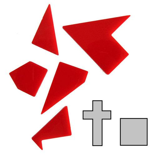 Мини головоломка геометрическая Латинский крест