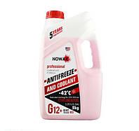 Антифриз NOWAX G12 красный готовая жидкость 5 кг (NX05001)