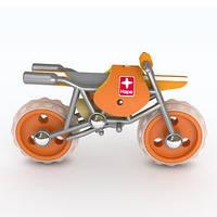 Деревянная игрушка мотоцикл из бамбука E-Moto, фото 1