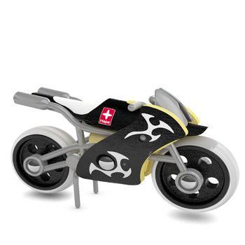 Деревянная игрушка мотоцикл из бамбука E-Superbike