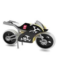 Деревянная игрушка мотоцикл из бамбука E-Superbike, фото 1