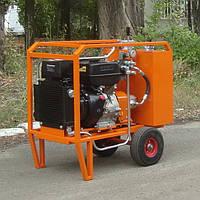 Мобильная гидростанция для динамического инструмента