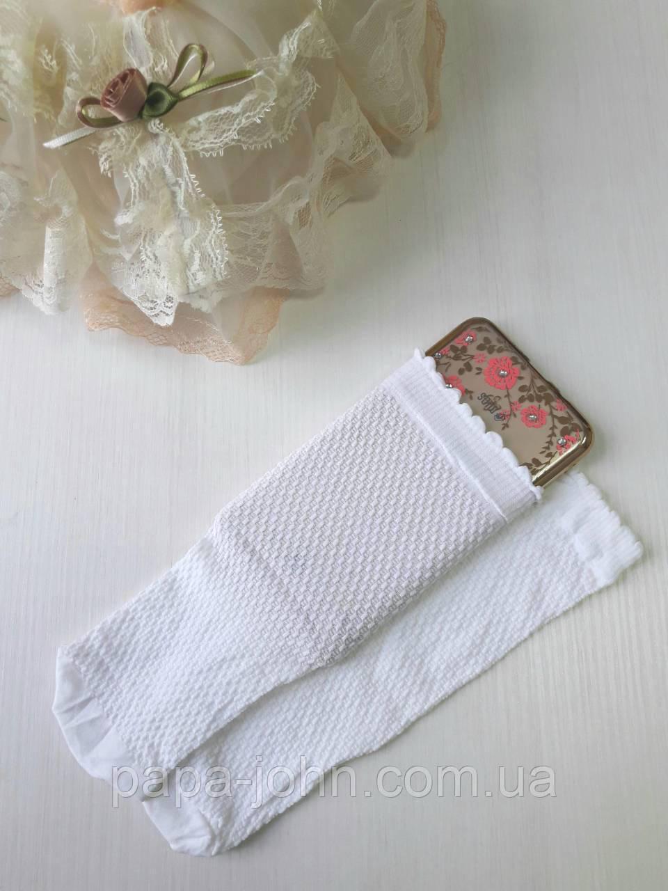 Шкарпетки капрон,40 мікро,білий,тм Bross,р. 34\36,37\39