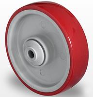 Колесо полиамид/полиуретан 125 мм, подшипник шариковый (Германия)