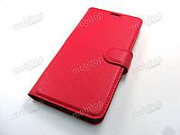 Кожаный чехол книжка Huawei Mate 10 Lite (красный), фото 1