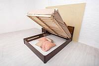 Кровать Сити с филенкой и ПМ 200*160 бук Олимп, фото 1