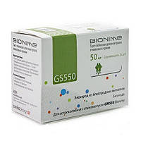 Тест-полоски Bionime GS550 , Бионайм №50