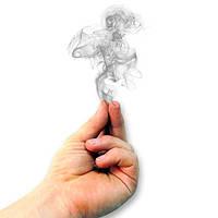 Фокус Дым из пальцев