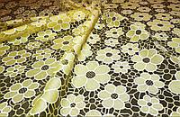 Сублимация на сетке РОМАШКА цвет - желтый