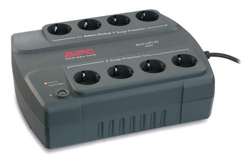 "Бесперебойник APC Back-UPS ES 400VA (BE400-RS) ""Over-Stock"""