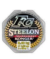 Леска Konger Steelon FC Tournament 0.12 мм 30 м (прозрачная)