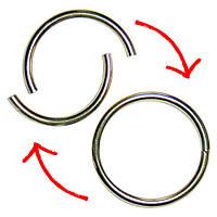 Фокус Половинки кольца