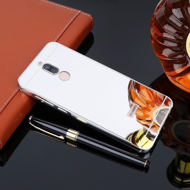 чехол бампер на Huawei Mate 10 lite со съемной крышкой серый