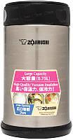 Пищевой термоконтейнер ZOJIRUSHI SW-FCE75XA 0.75 л ц:стальной, фото 1