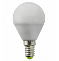 Лампа LED G45 7W 220V 4100K E14 матовая