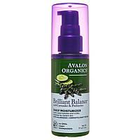 Дневное увлажняющее средство с экстрактами лаванды, огурца и пребиотиками, 57г, Avalon Organics