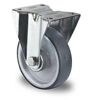 Колесо неповоротное с роликовым подшипником 100 мм, полипропилен/термопластичная резина (Германия)