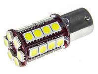 Led лампы в габарит P21W, BA15S 30Leds 5050SMD, 6V