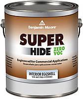 Акриловая краска на водной основе Super Hide Benjamin Moore, яичная скорлупа, 3.78л