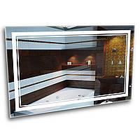 Зеркало в ванную комнату с LED - подсветкой StudioGlass   7-2