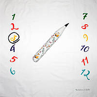 Фотозона и игрушка карандаш ростомер