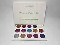 Палетка теней для век Glamierre Unicorn Glitter Palette