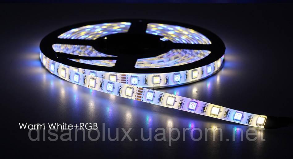 Светодиодная  LED лента 5050SMD 24V 60Led/m  5m RGBWW/IP65