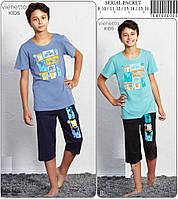 Комплект для мальчика футболка капри VIENETTA