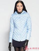 Женская демисезонная стеганая куртка