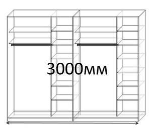 Шкафы купе 300 см