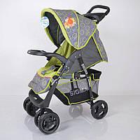Детская прогулочная коляска Sigma S-K-5AF  Grey-green