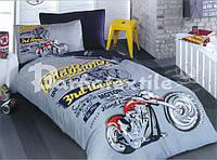 Детский комплект постельного белья Мотоцикл (БЯЗЬ)