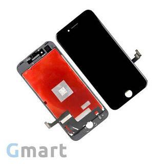 Дисплей iPhone 7 черный (LCD экран, тачскрин, стекло в сборе)