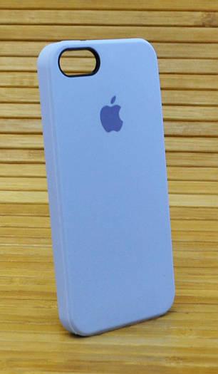 Силиконовый чехол на Айфон, iPhone 5 \ 5s \ se Original Elite сиреневый