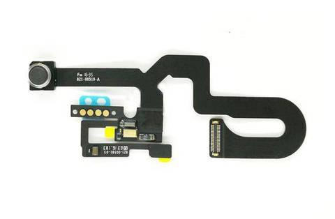 Оригинальная фронтальная камера iPhone 7 Plus со шлейфом, с датчиком приближения и микрофоном