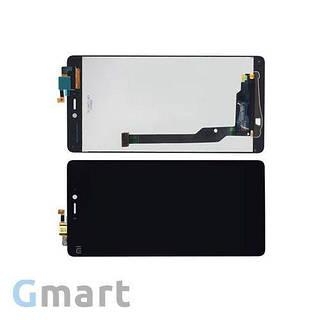 Дисплей Xiaomi Mi4c черный (LCD экран, тачскрин, стекло в сборе)