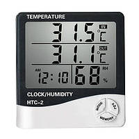 Цифровой термометр гигрометр с выносным датчиком HTC - 2